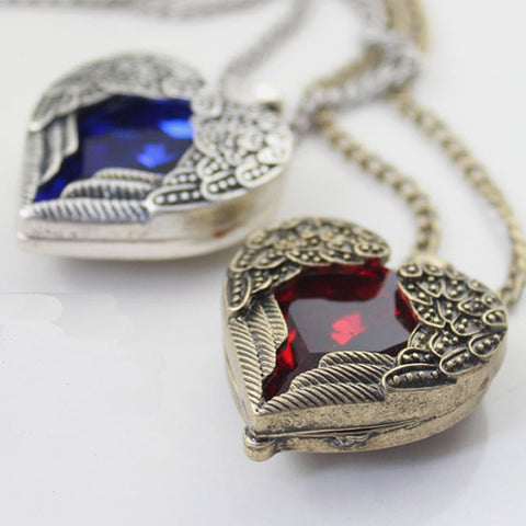 Angel Heart Necklaces - Shevoila Jewelry & Clothing - 1