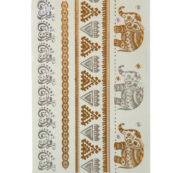 Flash Tattoos Gold/Silver - Shevoila Jewelry & Clothing - 6