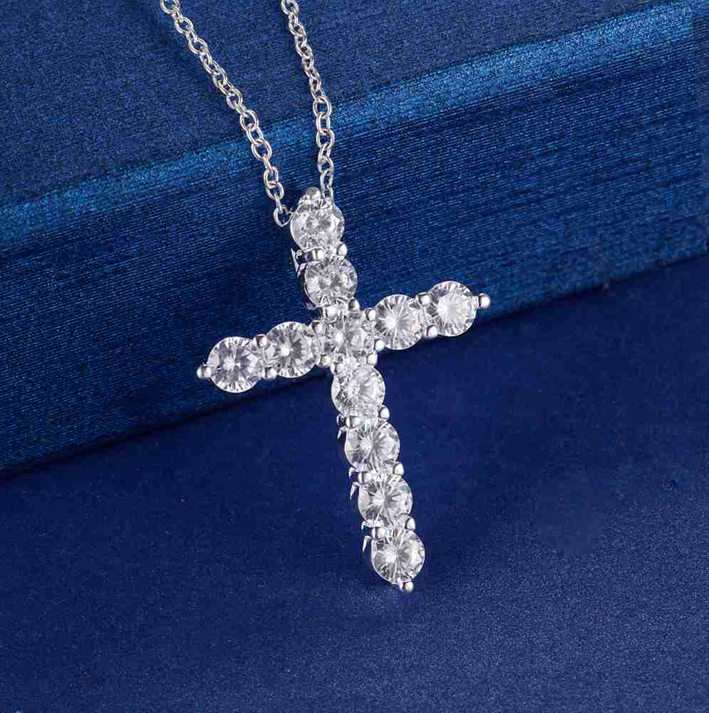 Silver Plated Cross Pendant