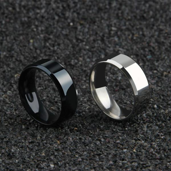 *OVERSTOCK SALE* Mens Titanium Forged Ring