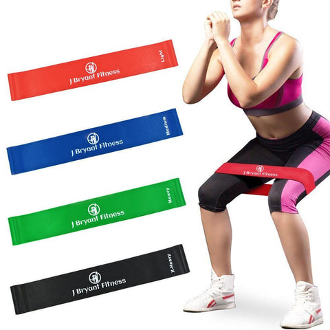 8-Level Fitness Resistance Exercise Bands