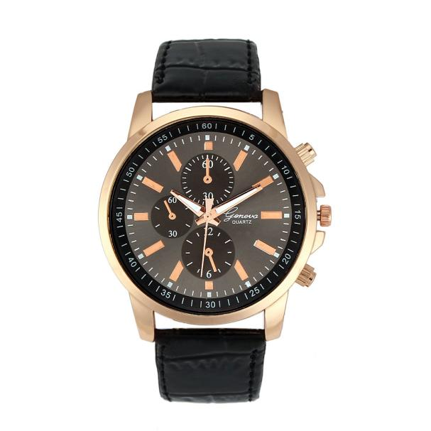 Geneva Gold Analog Wrist Watch