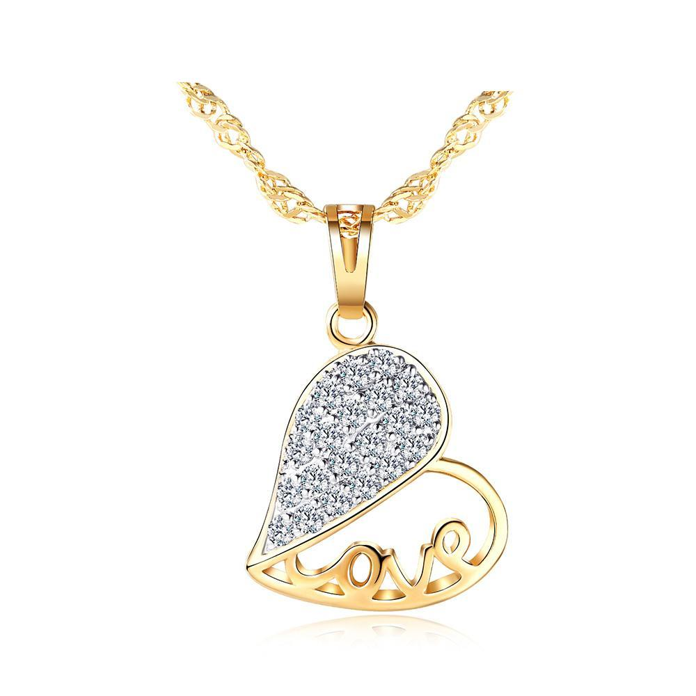 Heart Shaped Love Pendant