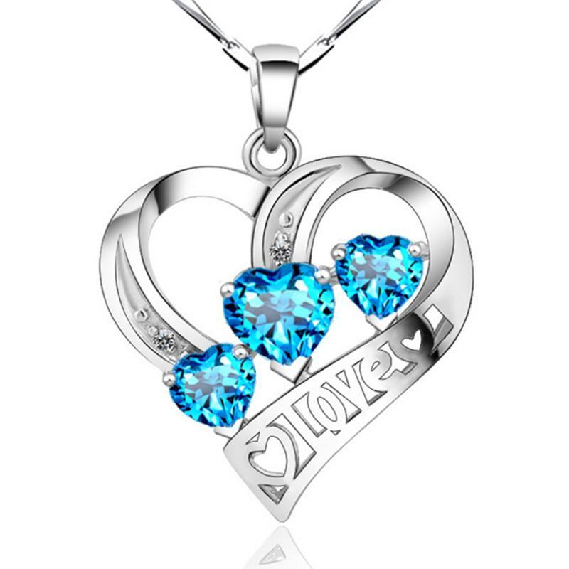 Sterling Silver Heart Shaped Pendant