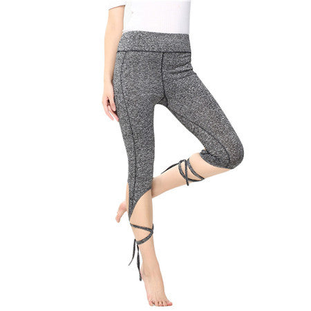 Leg Wrap Workout Pants