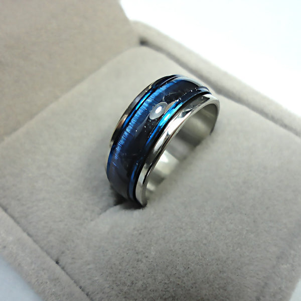Blue Space Ring - Shevoila Jewelry & Clothing