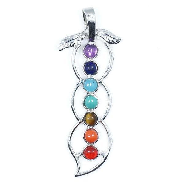 7 Stone Chakra Pendants - Shevoila Jewelry & Clothing - 11