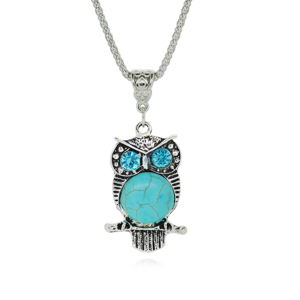 Vintage Owl Necklace - Shevoila Jewelry & Clothing - 5