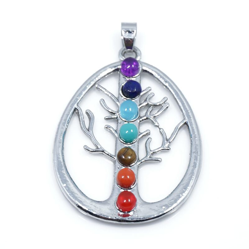7 Stone Chakra Pendants - Shevoila Jewelry & Clothing - 13
