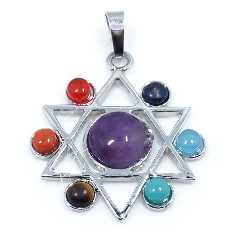 7 Stone Chakra Pendants - Shevoila Jewelry & Clothing - 20