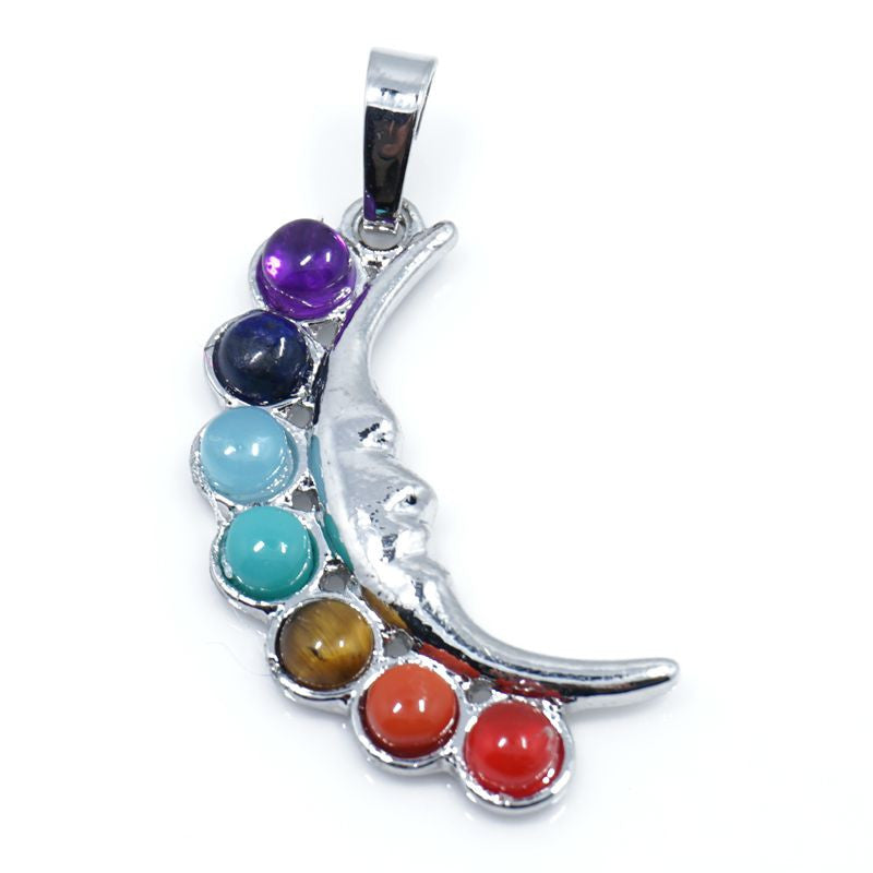 7 Stone Chakra Pendants - Shevoila Jewelry & Clothing - 17