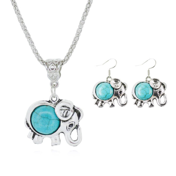 Tibetan Turquoise Jewelry Sets - Shevoila Jewelry & Clothing - 4