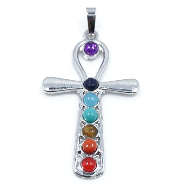 7 Stone Chakra Pendants - Shevoila Jewelry & Clothing - 18