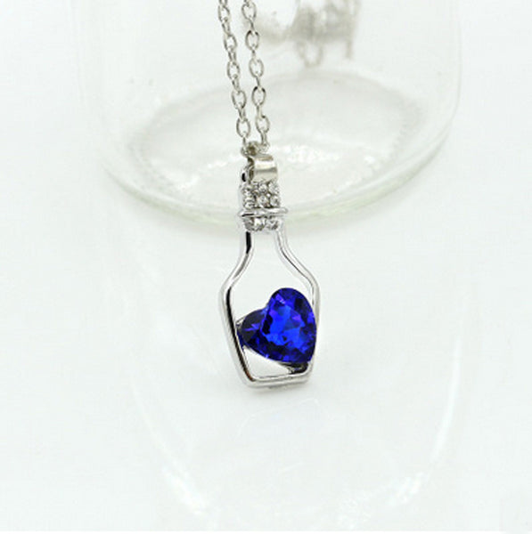 Love Drift Bottle Necklace - Shevoila Jewelry & Clothing - 9