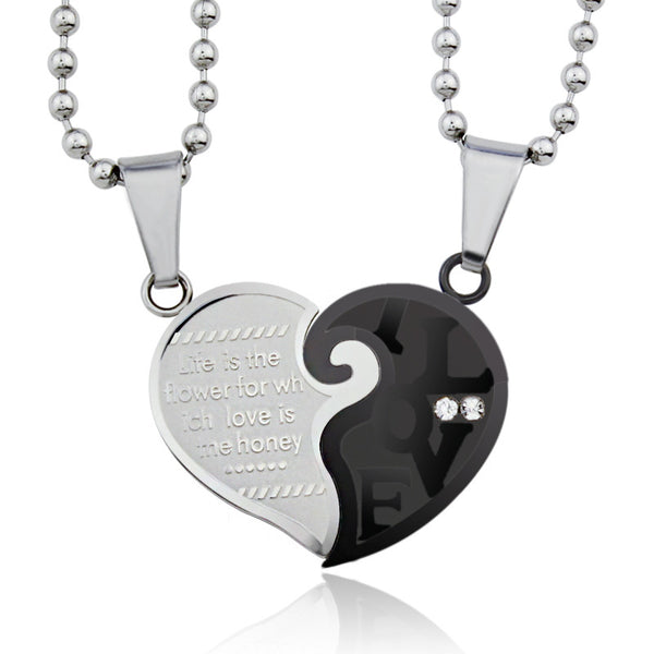 Life is the Flower of Love Necklace - Shevoila Jewelry & Clothing - 2