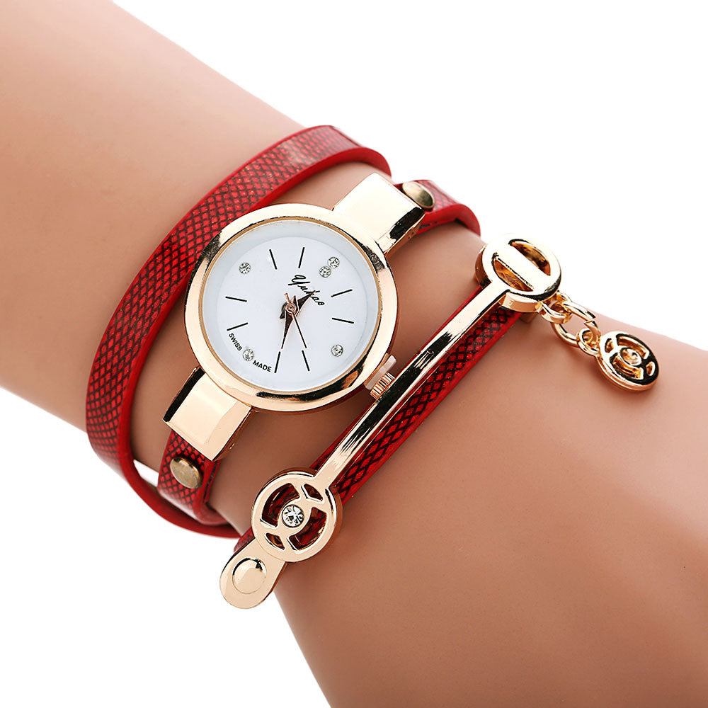 Golden Wrap Bracelet Watch - Shevoila Jewelry & Clothing - 8