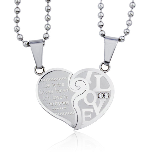 Life is the Flower of Love Necklace - Shevoila Jewelry & Clothing - 1