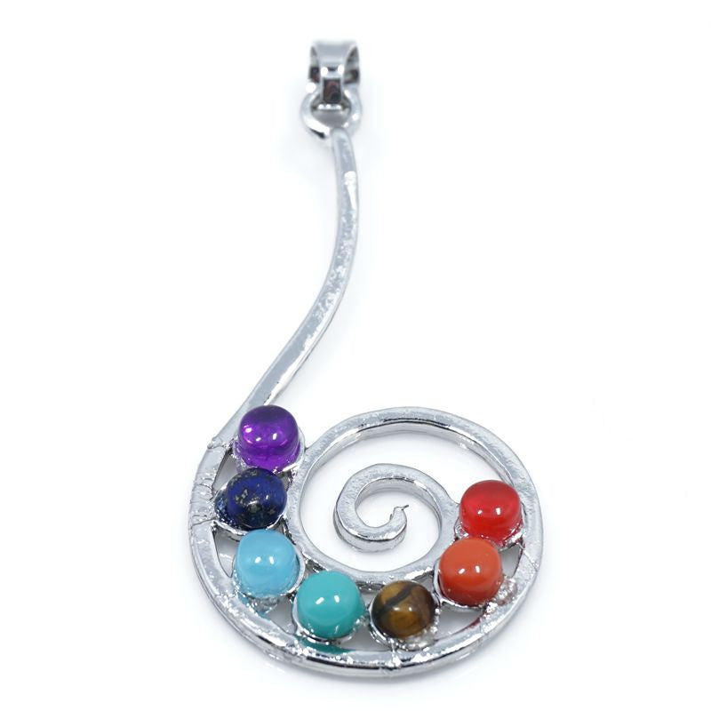 7 Stone Chakra Pendants - Shevoila Jewelry & Clothing - 6