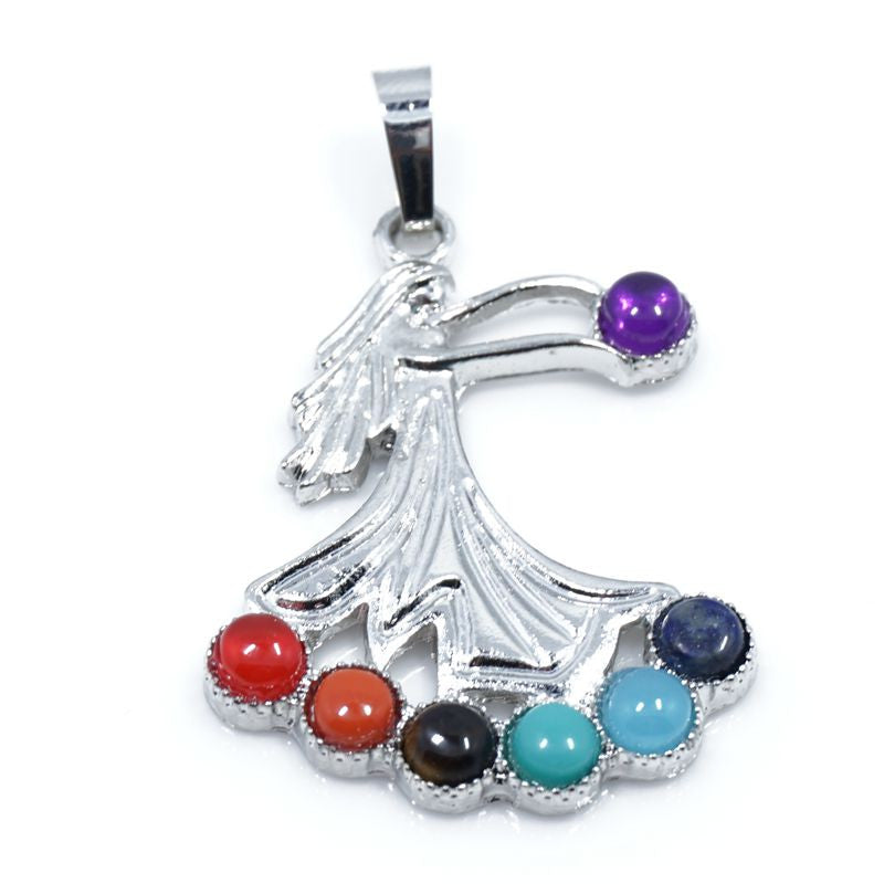 7 Stone Chakra Pendants - Shevoila Jewelry & Clothing - 19