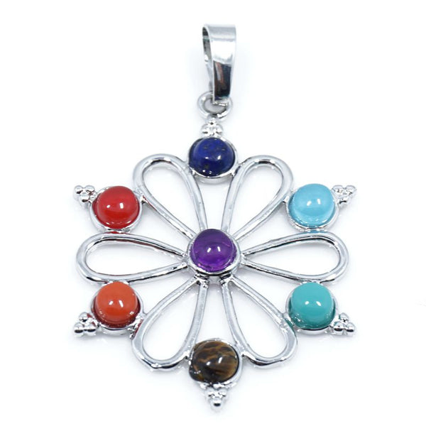 7 Stone Chakra Pendants - Shevoila Jewelry & Clothing - 14