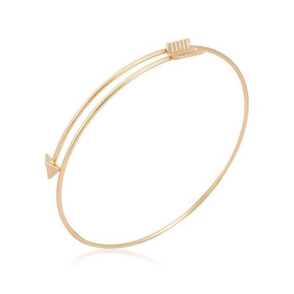 Silver & Gold Arrow Bracelet - Shevoila Jewelry & Clothing - 3