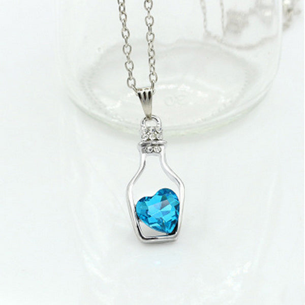 Love Drift Bottle Necklace - Shevoila Jewelry & Clothing - 5
