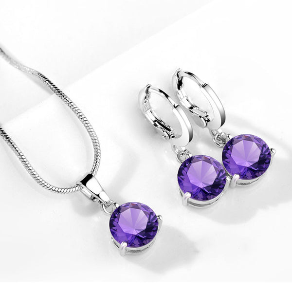 Natural Gemstone Jewelry Sets - Shevoila Jewelry & Clothing - 8