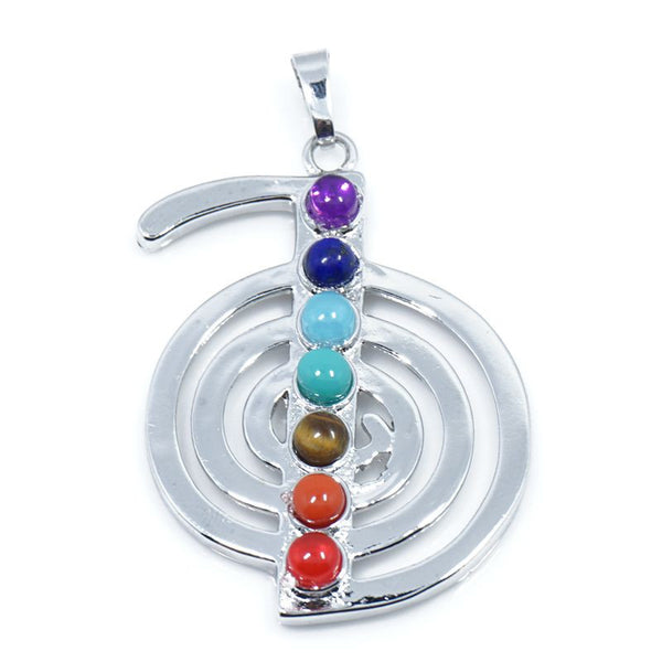 7 Stone Chakra Pendants - Shevoila Jewelry & Clothing - 12