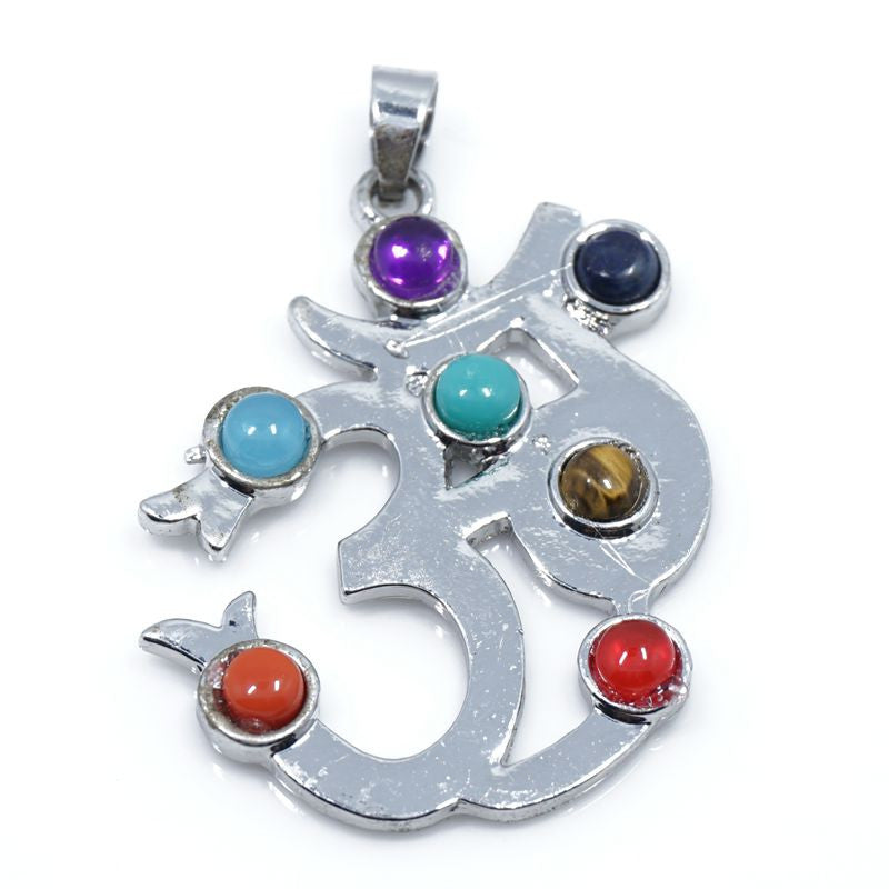 7 Stone Chakra Pendants - Shevoila Jewelry & Clothing - 7