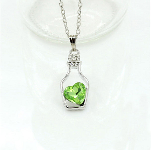 Love Drift Bottle Necklace - Shevoila Jewelry & Clothing - 10