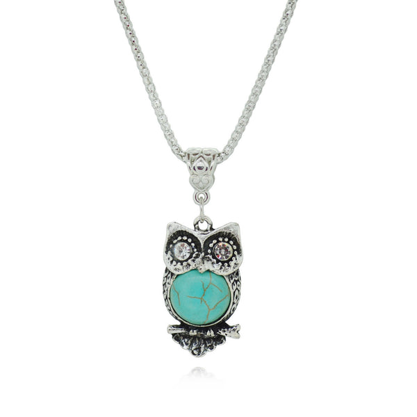 Vintage Owl Necklace - Shevoila Jewelry & Clothing - 1
