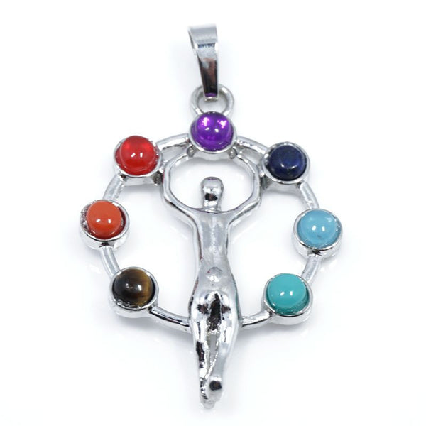 7 Stone Chakra Pendants - Shevoila Jewelry & Clothing - 9