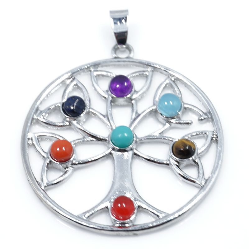 7 Stone Chakra Pendants - Shevoila Jewelry & Clothing - 15