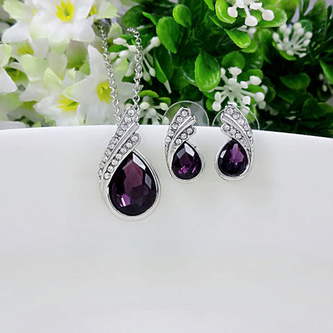 Water Drop Jewelry Sets - Shevoila Jewelry & Clothing - 1