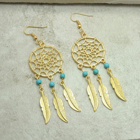 Dream Catcher Earrings - Shevoila Jewelry & Clothing - 1