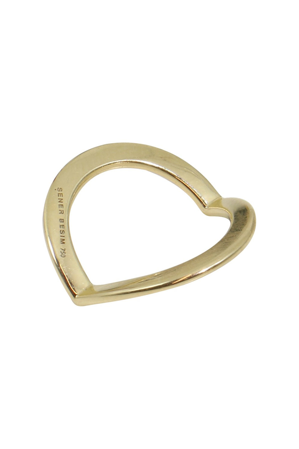 V Ring (Gold/Heavy Weight)