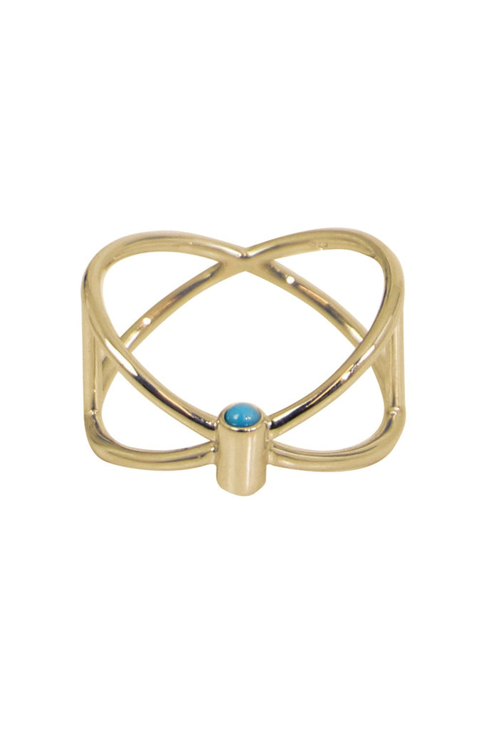 Closed Ring Turquoise (Light Weight)