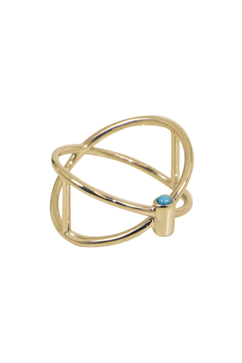 Thin Closed Ring (Gold)