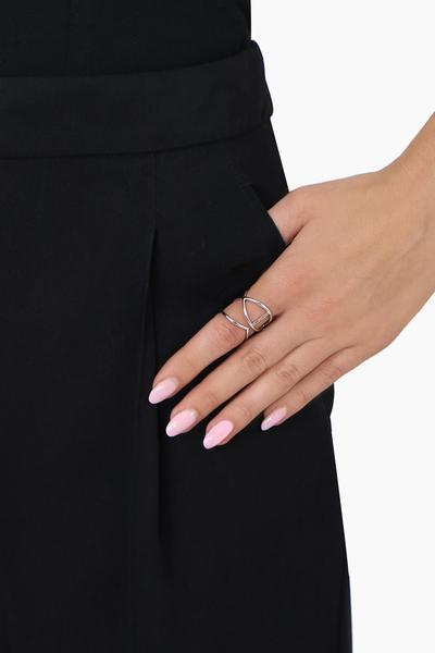 Thin Open Ring (Silver)