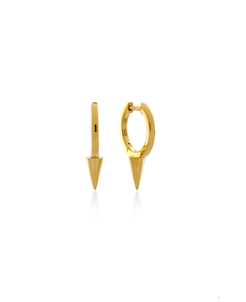 Single Point Huggie Earring 10mm