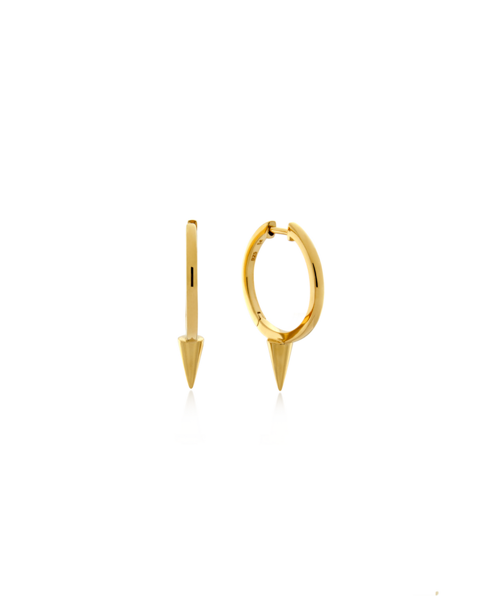 Single Point Huggie Earring 15mm