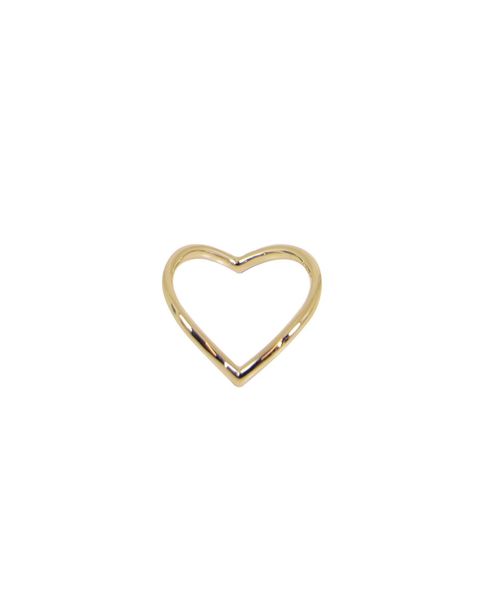Thin V Ring (Gold)