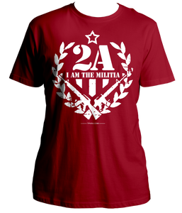 2A I Am The Militia Shirt
