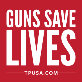 Guns Save Lives Bumper Sticker