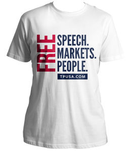 Free Speech. Markets People. Shirt