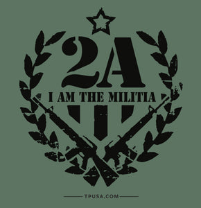 2A I Am The Militia Magnet