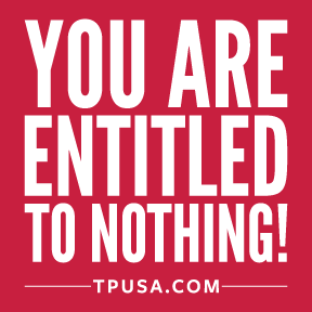 You Are Entitled to Nothing Bumper Sticker