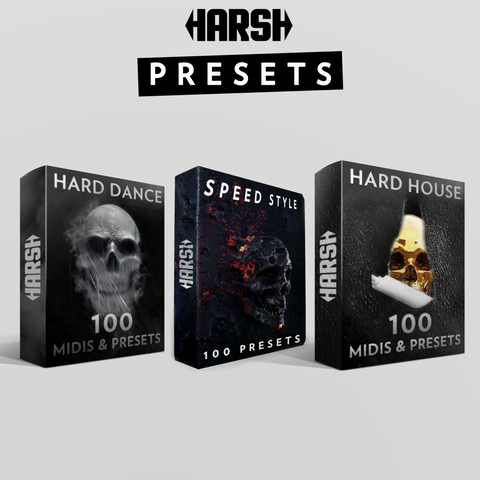 Harsh Presets Bundle