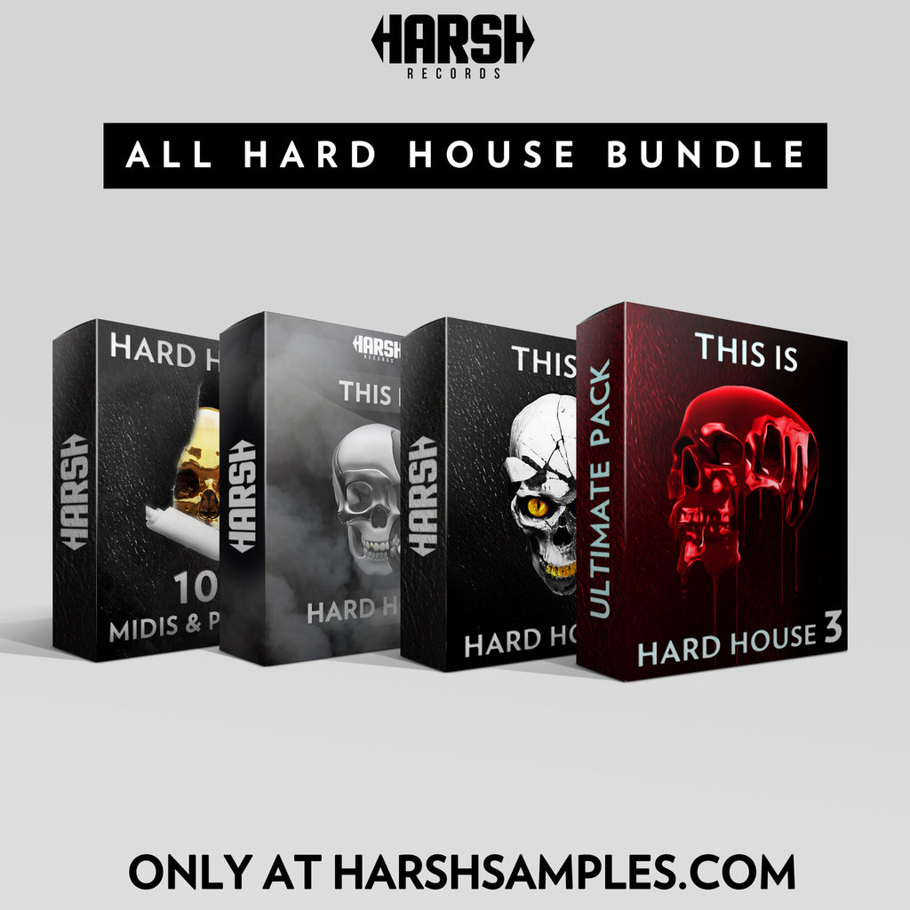 ALL HARD HOUSE BUNDLE