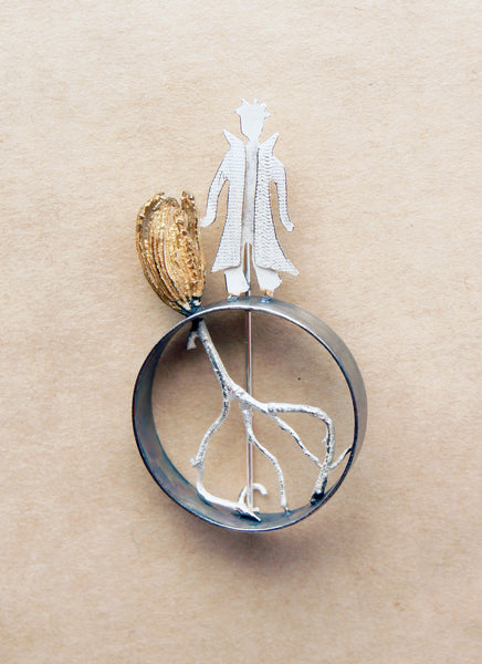 Friendship, The Little Prince and the Rose Brooch